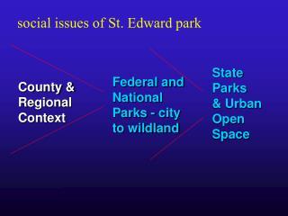 County & Regional Context
