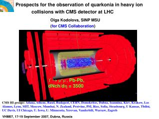 Prospects for the observation of quarkonia in heavy ion