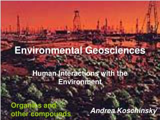 Environmental Geosciences