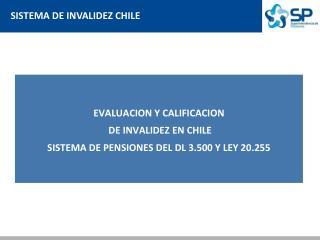 SISTEMA DE INVALIDEZ CHILE
