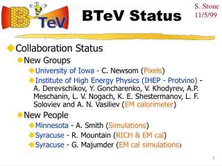 BTeV Status