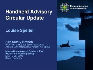 Handheld Advisory Circular Update