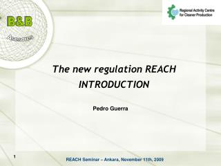 The new regulation REACH  INTRODUCTION