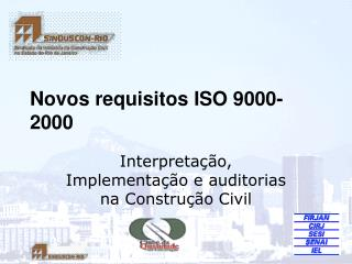 Novos requisitos ISO 9000-2000