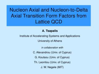 Nucleon Axial and Nucleon-to-Delta Axial Transition Form Factors from Lattice QCD