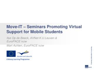 Move-IT – Seminars Promoting Virtual Support for Mobile Students