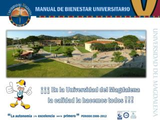 MANUAL DE BIENESTAR UNIVERSITARIO