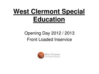 West Clermont Special Education