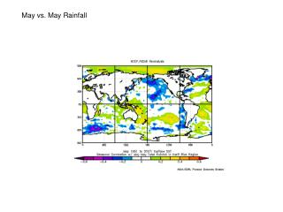 May vs. May Rainfall