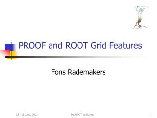 PROOF and ROOT Grid Features