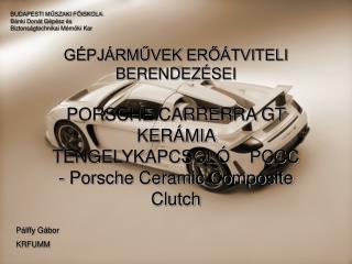 BUDAPESTI MŰSZAKI FŐISKOLA Bánki Donát Gépész és Biztonságtechnikai Mérnöki Kar