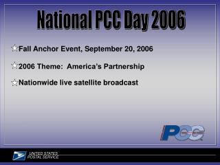 National PCC Day 2006