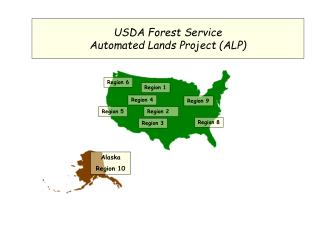 USDA Forest Service Automated Lands Project (ALP)