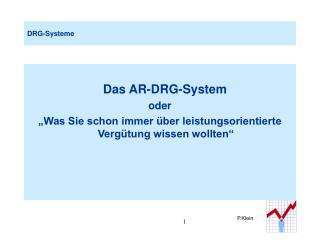 DRG-Systeme