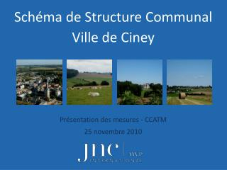 Schéma de Structure Communal Ville de Ciney