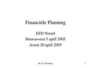 Financi le Planning