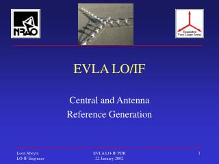 EVLA LO/IF