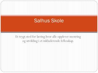 Salhus Skole