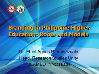 Branding in Philippine Higher Education: Roots and Models
