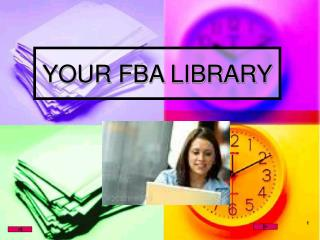 YOUR FBA LIBRARY