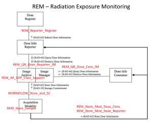 REM – Radiation Exposure Monitoring