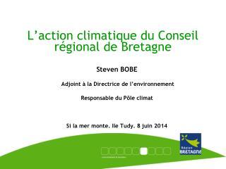 L'action climatique du Conseil régional de Bretagne