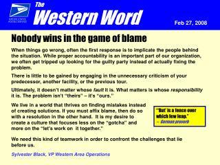 Western Word