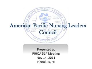 American Pacific Nursing Leaders Council