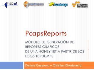 MÓDULO DE GENERACIÓN DE REPORTES GRÁFICOS DE UNA HONEYNET A PARTIR DE LOS LOGS TCPDUMPS