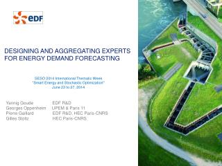 Designing and aggregating experts for energy demand forecasting