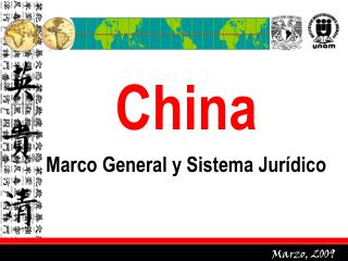 China Marco General y Sistema Jurídico