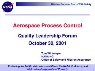 Aerospace Process Control