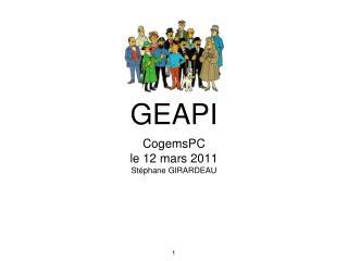 GEAPI