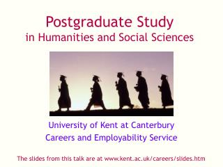 Postgraduate Study in Humanities and Social Sciences
