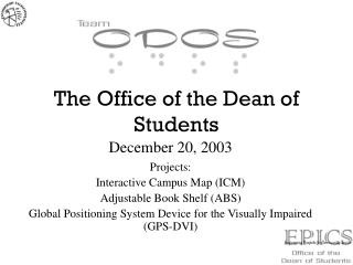 The Office of the Dean of Students