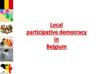 Local  participative democracy  in  Belgium