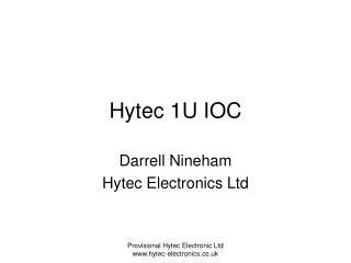 Hytec 1U IOC