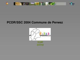 PCDR/SSC 2004 Commune de Perwez