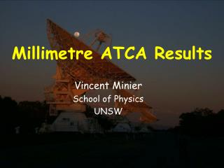 Millimetre ATCA Results