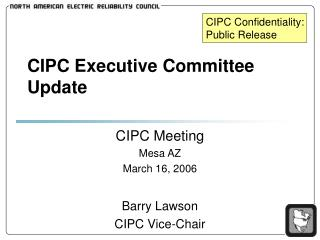 CIPC Executive Committee Update
