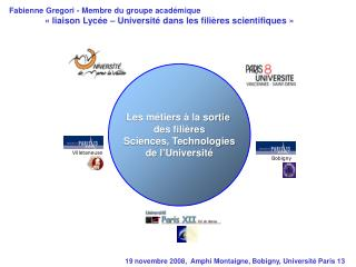 19 novembre 2008,  Amphi Montaigne, Bobigny, Université Paris 13
