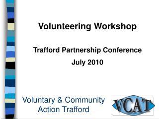 Voluntary  Community  Action Trafford