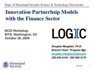 Innovation Partnerhsip Models with the Finance Sector