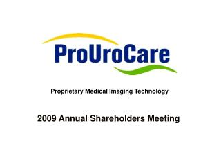 2009 Annual Shareholders Meeting
