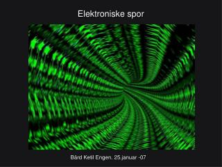 Elektroniske spor