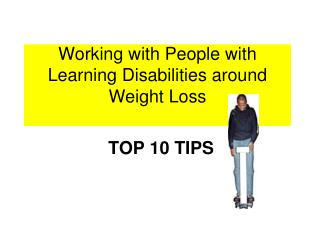 Working with People with Learning Disabilities around Weight Loss
