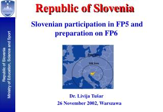 Slovenian participation in FP5 and preparation on FP6