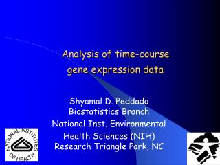 Analysis of time-course  gene expression data