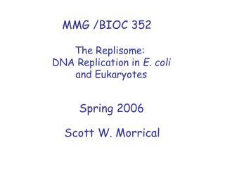 MMG /BIOC 352