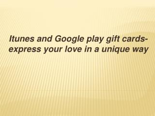 Mygiftcardsupply.com- let you have access to hi-tech iTunes
